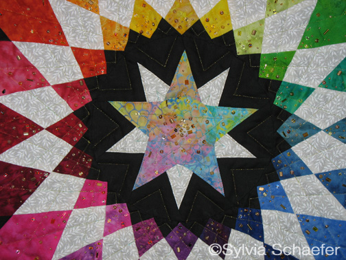 Color Me Clockwise by Sylvia Schaefer