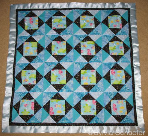 Michael's Baby Quilt by Sylvia Schaefer