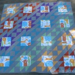 Shreya's Baby Quilt by Sylvia Schaefer