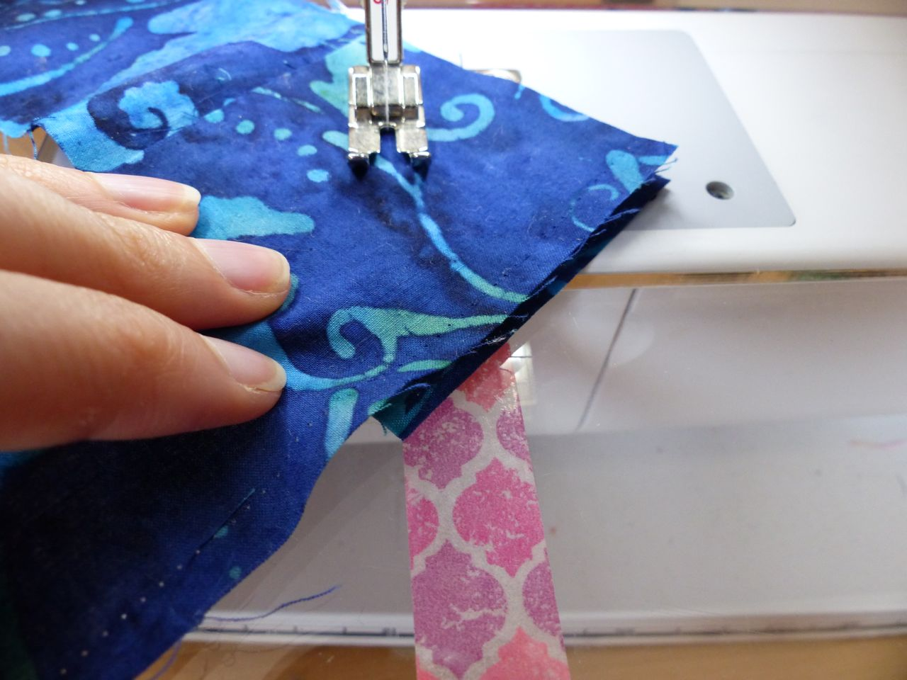 A tip for piecing bindings