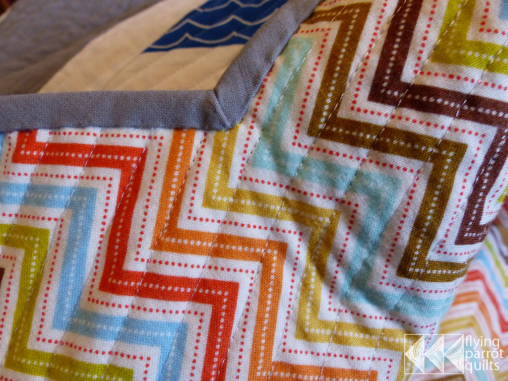 Binding Inside Corners Tutorial Flying Parrot Quilts
