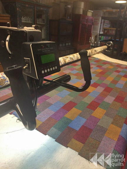 Longarm quilting! | Flying Parrot Quilts