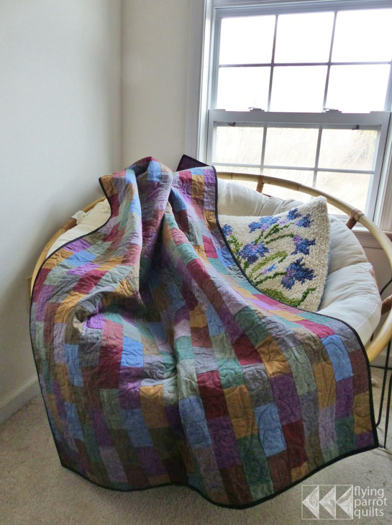 Matcrab quilt | Flying Parrot Quilts