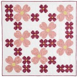 Dogwood Blossoms by Sylvia Schaefer, pattern in McCall's Quick Quilts April/May 2015