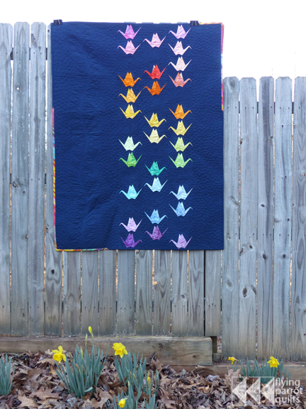 Paper Cranes | Flying Parrot Quilts