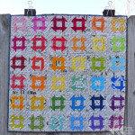 Rainbow mini swap | Flying Parrot Quilts