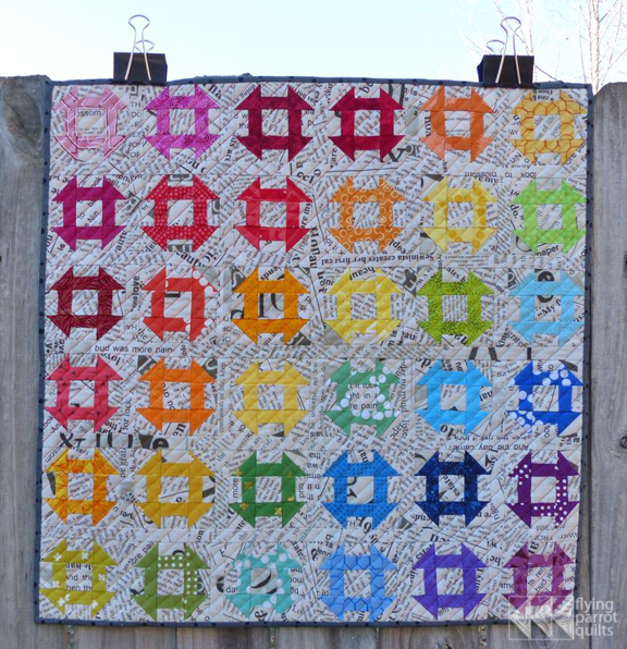 Rainbow mini swap   Flying Parrot Quilts