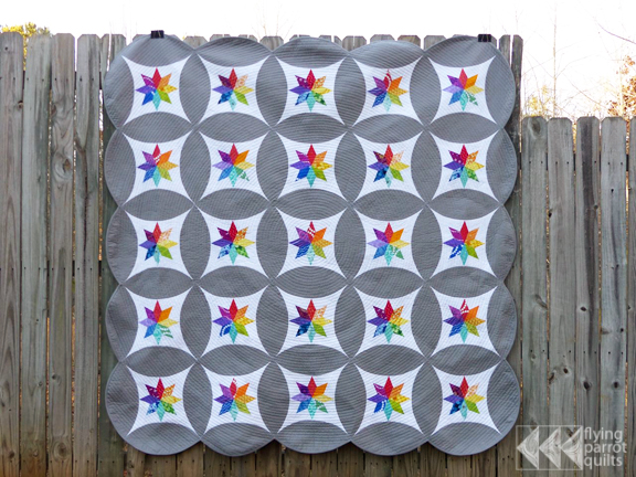 Celestial Orbs | Flying Parrot Quilts