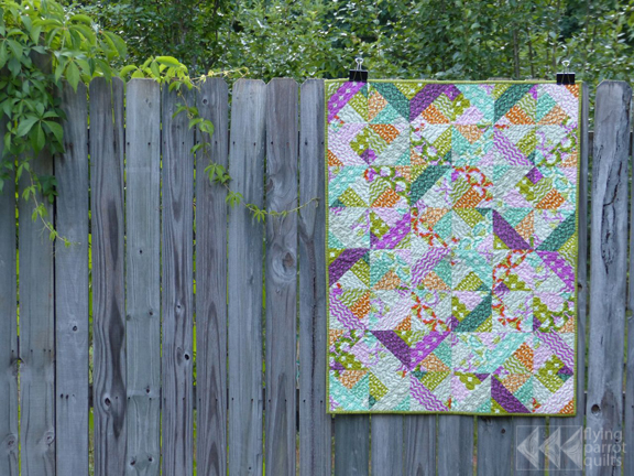 Baby Girl quilt | Flying Parrot Quilts