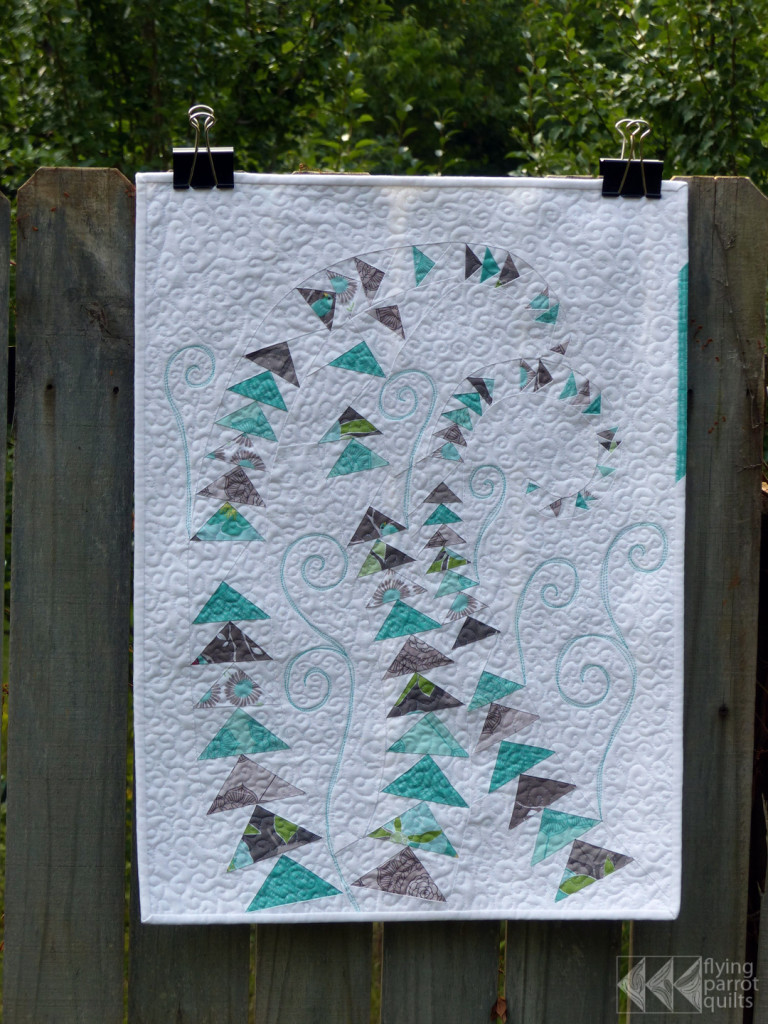 Geese in the Ferns | Flying Parrot Quilts