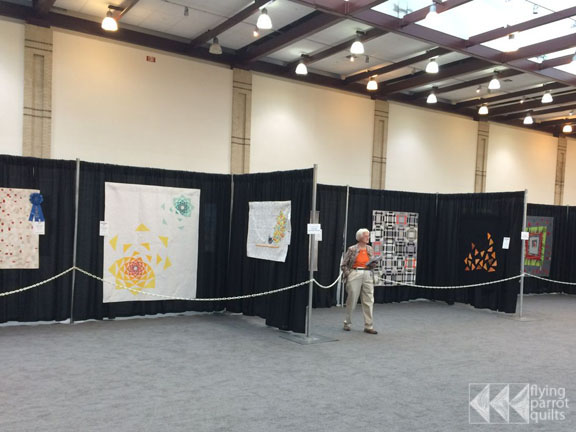 Aritchokes quilt at AQS Chattanooga | Flying Parrot Quilts