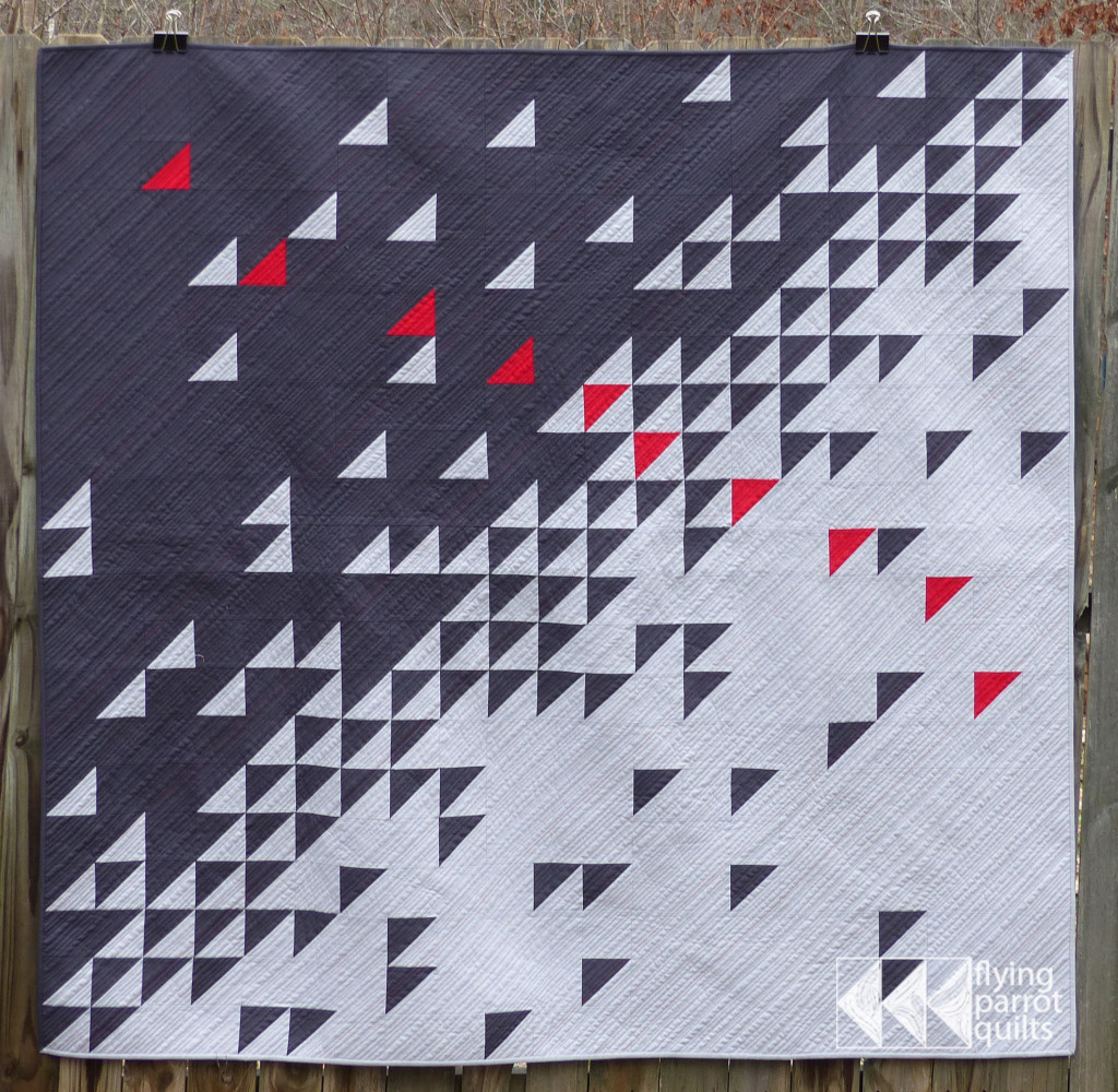 Meeting of the Geese by Sylvia Schaefer | Flying Parrot Quilts