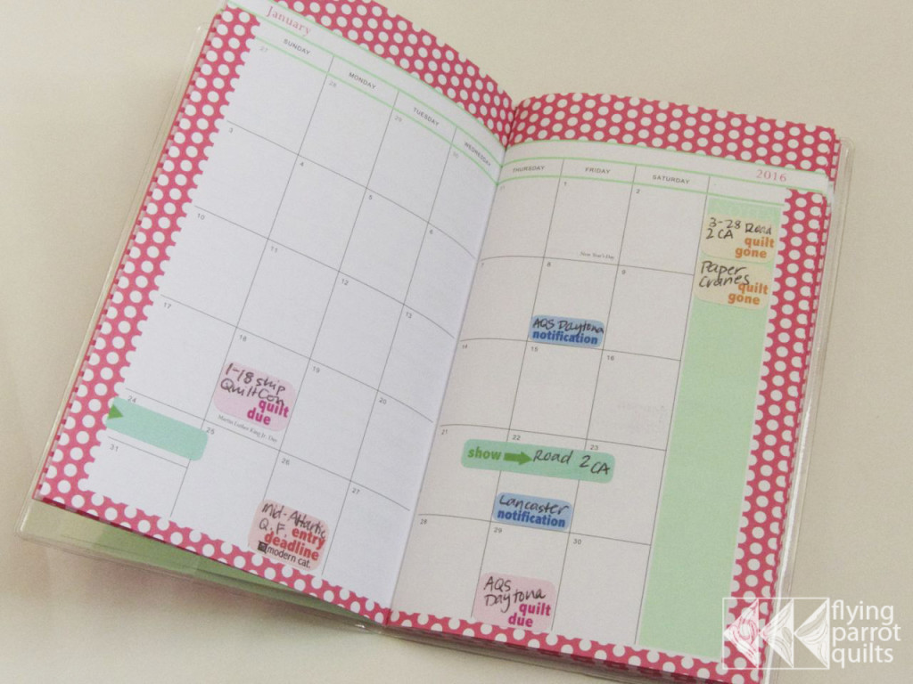 Quilt Planner | Flying Parrot Quilts