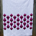 Red Diamonds quilt | Flying Parrot Quilts