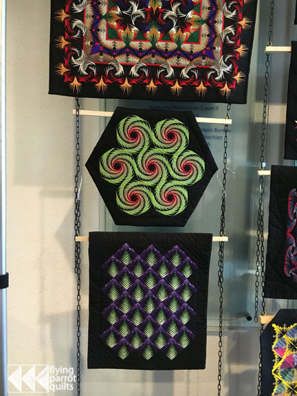 George Siciliano quilts | Flying Parrot Quilts
