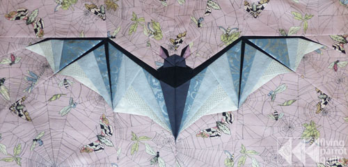 Large Bat | Flying Parrot Quilts