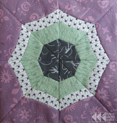 Curved Spiderweb Tutorial | Flying Parrot Quilts