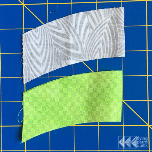 Curved Piecing | Flying Parrot Quilts