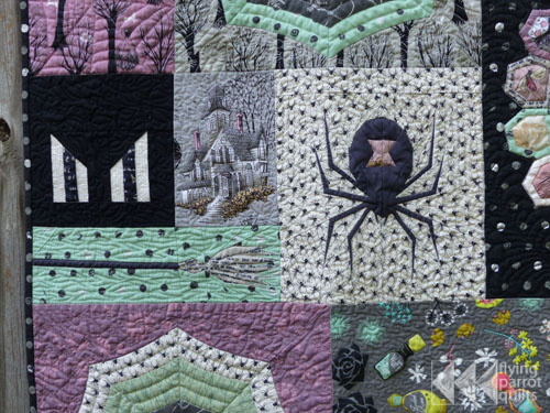 Epic Halloween Quilt | Flying Parrot Quilts