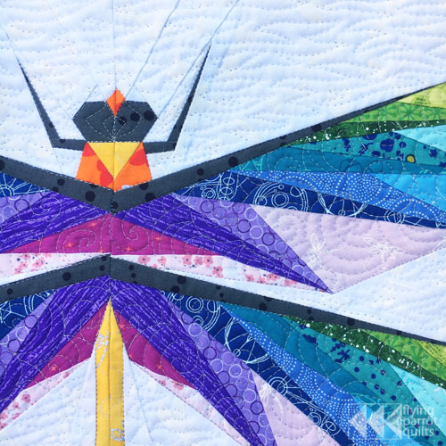 Dragonfly mini quilt (and new pattern!)