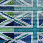 Rainbow Union Jack quilt   Flying Parrot Quilts