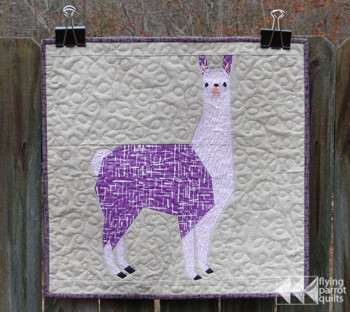 Lleonard the Llama | Flying Parrot Quilts
