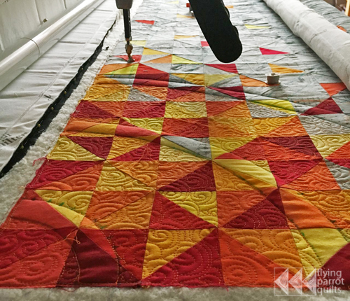 Making the Corona quilt | Flying Parrot Quilts
