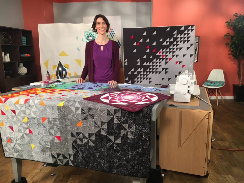 Sylvia Schaefer of Flying Parrot Quilts on Fresh Quilting Season 2 | www.flyingparrotquilts.com