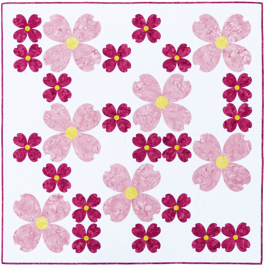Dogwood Dreams pattern | Flying Parrot Quilts | www.flyingparrotquilts.com