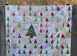 Gnome Forest quilt