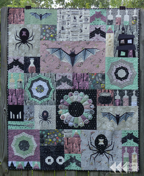 Halloween Quilts, Patterns 2020 The Epic Halloween Quilt Along – Flying Parrot Quilts