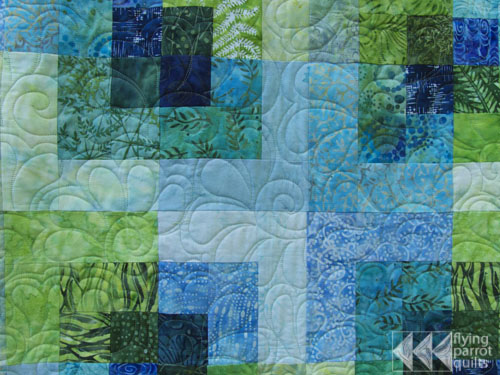 Batik Quilt Flying Parrot Quilts